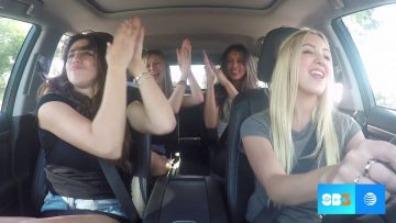 These 4 Girls Are Having Fun In The Car. But wait till the end of video!