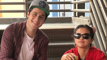 Selena Gomez and David Henrie Reunite on the Fourth of July at Disneyland
