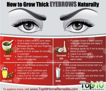 10 Tips On How To Get Perfect Eyebrows