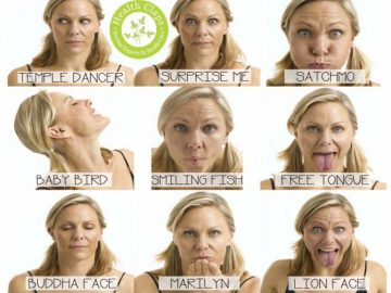 7 Anti Aging Facial Yoga Exercises