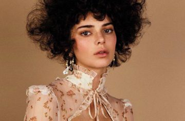 Kendall Jenner Wore an Afro For a Photoshoot and Fans Aren't Happy