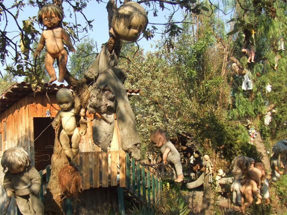 Scariest Destinations - Island of Dolls, Mexico
