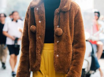 17 Teddy Jackets to Snuggle Up In for Fall