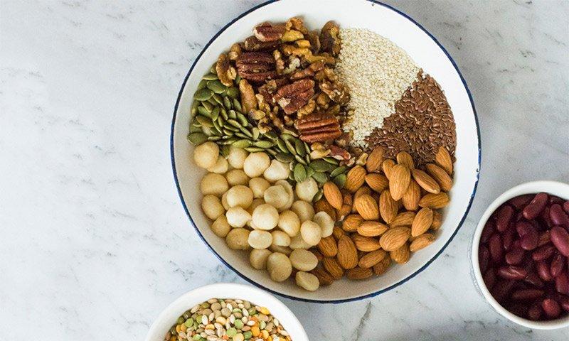 Nuts, Seeds & Legumes
