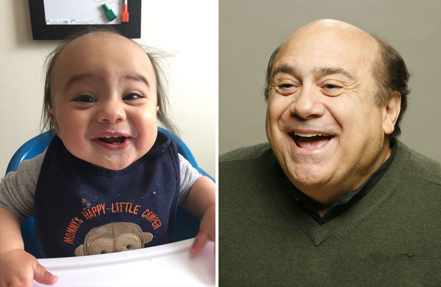 Hilarious Baby and Celebrity Lookalikes