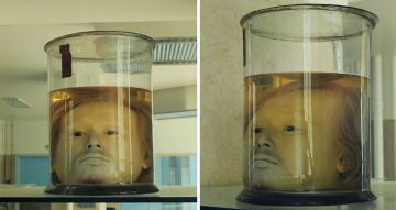 Serial Killer's Head in a Jar - See For Yourself