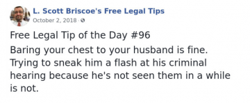 Hilarious Legal Advice This Lawyer Posted After 20 Years Of Experience