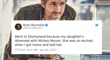 New Hilarious Ryan Reynold's Tweets About Parenting