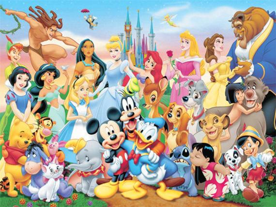 all-disney-characters-together